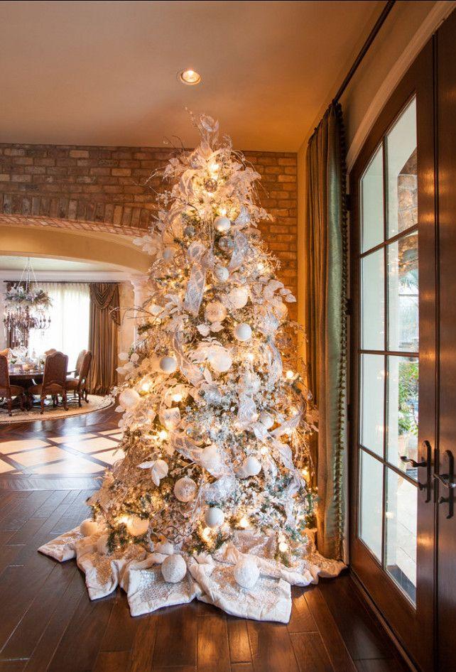 дизайнерский декор новогодней елки