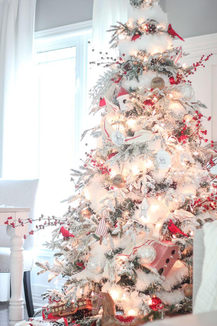 украшенная новогодняя елка